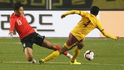 Seung-ho Paik vom SV Darmstadt 98 im Trikot der südkoreanischen Nationalmannschaft