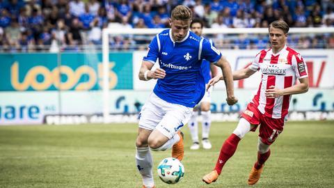 Felix Platte im Spiel gegen Union Berlin