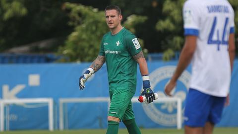 Marcel Schuhen von Darmstadt 98 beim Trainingsauftakt zur neuen Saison