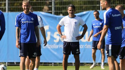 Training bei Darmstadt