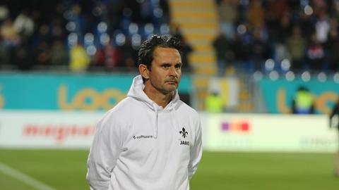 Lilien-Trainer Dirk Schuster.