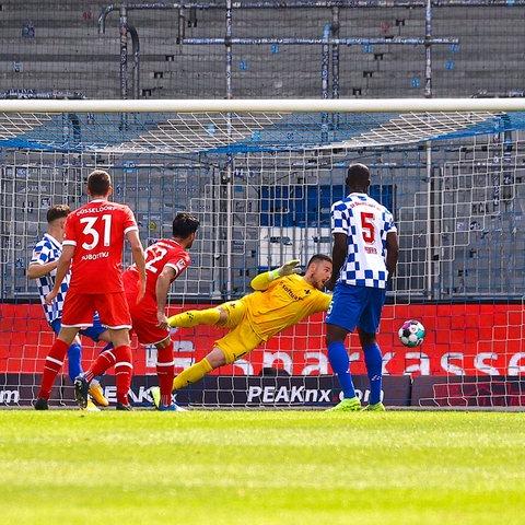 Tor Fortuna Düsseldorf SV Darmstadt 98