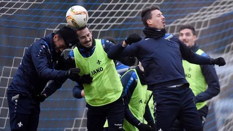 Training beim SV Darmstadt 98