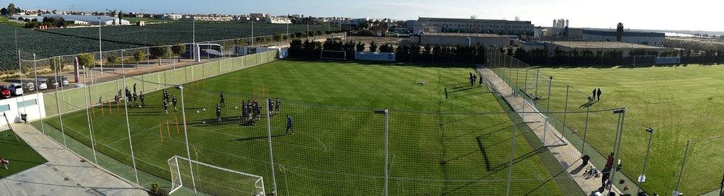 Darmstadts Trainingsgelände in Spanien von oben