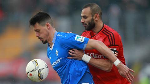 Wagner im Spiel gegen Leverkusen