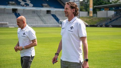 Carsten Wehlmann und Torsten Lieberknecht