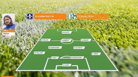 Spielerzeugnis Darmstadt 98