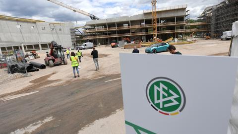 Die Baustelle der neuen DFB-Akademie