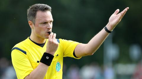 Schiedsrichter Malte Dittrich