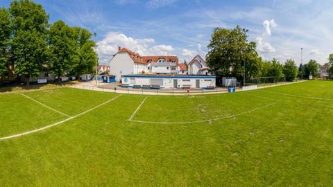 Der Platz des FSV Dorheim