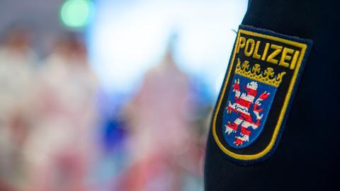 Das Wappen der Polizei Hessen