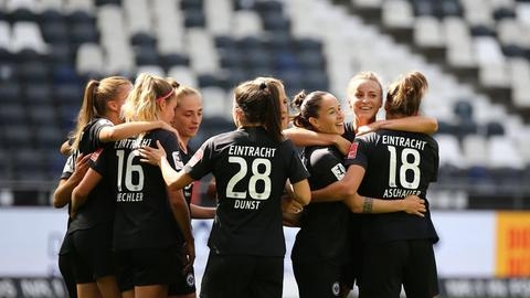 Eintracht Frauen Jubel