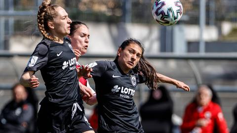 Eintracht Frankfurt Frauen Pokal-Halbfinale