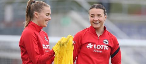 Tanja Pawollek von Eintracht Frankfurt