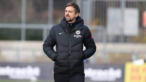 Niko Arnautis, Trainer der Eintracht Frankfurt Frauen