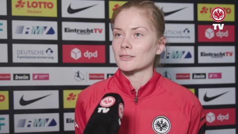 Sjoeke Nüsken von Eintracht Frankfurt