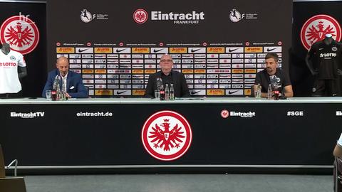 Pressekonferenz bei den Eintracht Frankfurt Frauen
