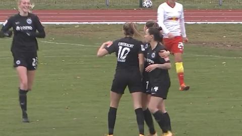 Eintracht Frankfurt Frauen RB Leipzig still
