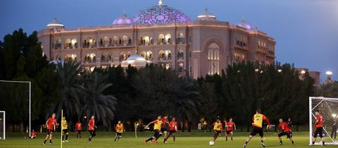 Eintracht Trainingslager Abu Dhabi