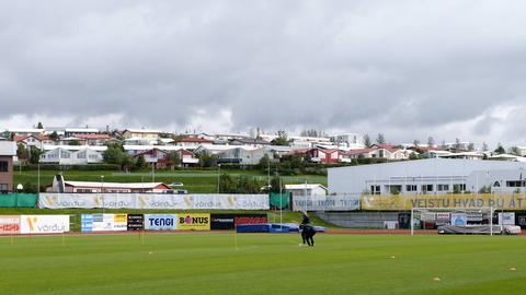 Das Stadion in Breidablik