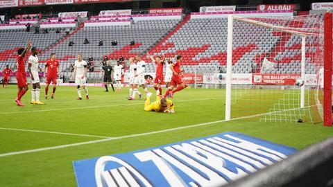 Leon Goretzka erzielte hier das 1:0 für den FC Bayern.