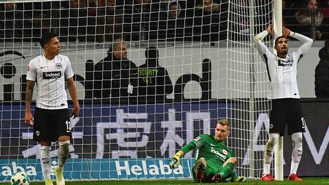 Kevin-Prince Boateng war nach der Niederlage gegen Bayer Leverkusen bedient.