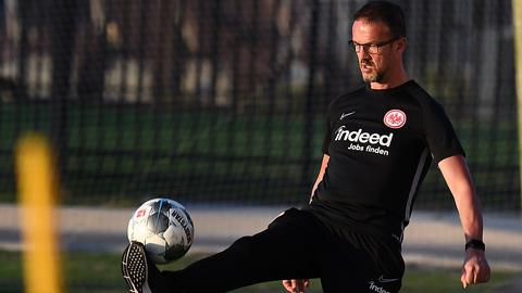 Fredi Bobic beim Eintracht-Trainingslager in Florida