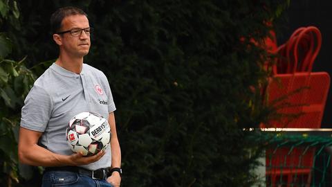 Eintracht-Sportvorstand Fredi Bobic befindet sich weiterhin auf der Suche nach Neuzugängen.