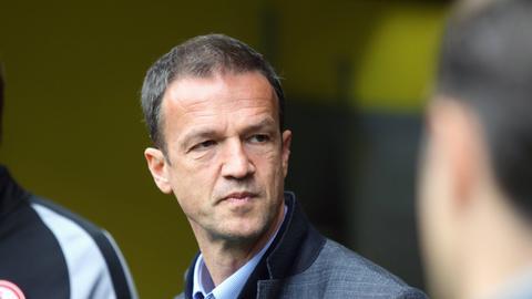 Eintracht-Sportvorstand Fredi Bobic kann einen Wechsel von Oczipka nicht ausschließen.