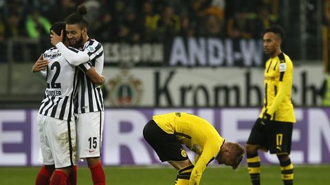 Jubel der Eintracht gegen Dortmund