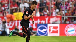 Marijan Cavar feierte am 32. Spieltag gegen den FC Bayern München sein Bundesligadebüt.