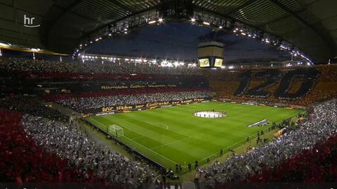 Eintracht-Choreo Mailand