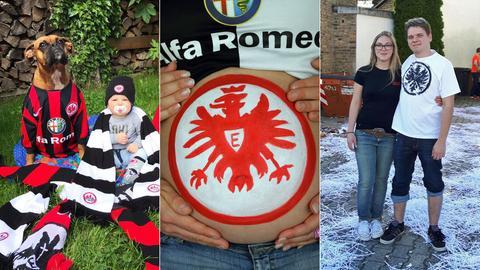 Eintracht Gewinnspiel Collage