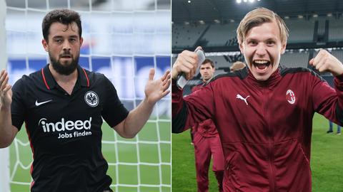 Collage: Amin Younes (links), Jens Petter Hauge (rechts)