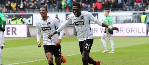 Danny da Costa traf gegen Hannover zum ersten Mal überhaupt in der Bundesliga.