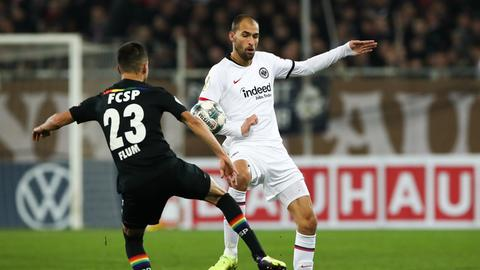 Dost im Spiel gegen St. Pauli