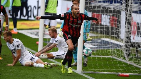 Bas Dost Eintracht Frankfurt TSG Hoffenheim