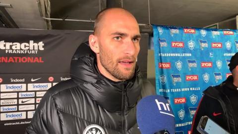Bas Dost von Eintracht Frankfurt