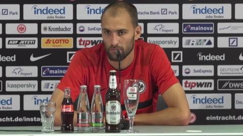 Bas Dost Eintracht Frankfurt still
