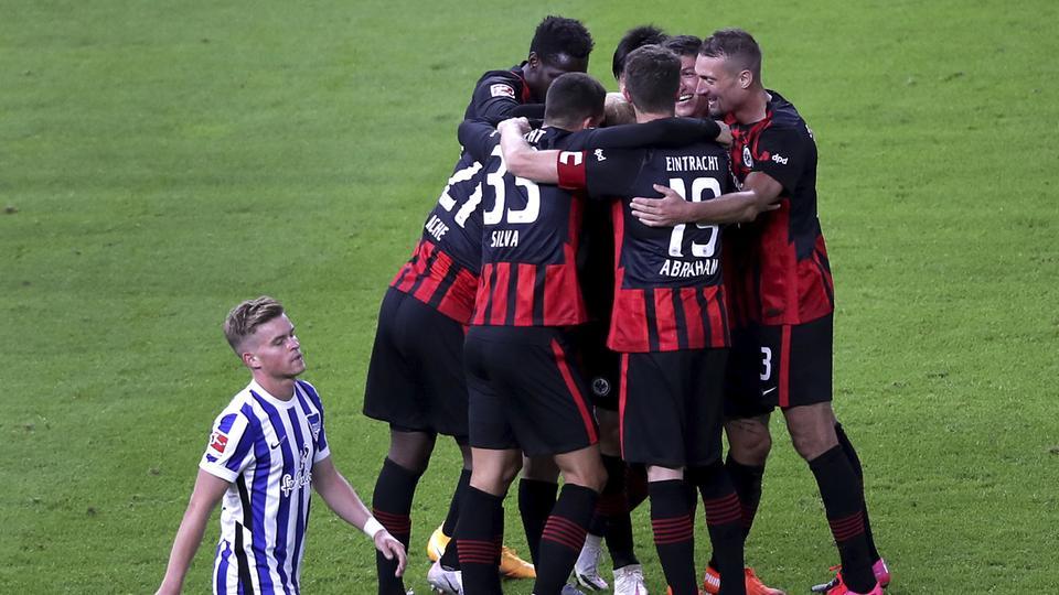 dpa Eintracht Hertha