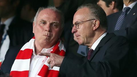Uli Hoeneß beim FC Bayern