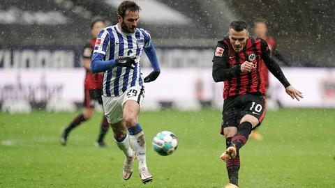 Filip Kostic im Spiel gegen die Hertha 2020/21.