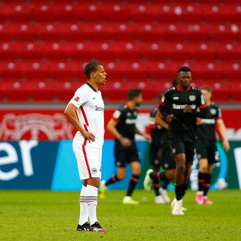 Timothy Chandler nach der Niederlage in Leverkusen