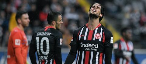 Eintracht-Profi Paciencia ist unzufrieden