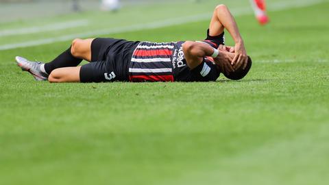 Frust bei Eintracht-Stürmer Silva