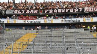 dpa Eintracht Block Sperre