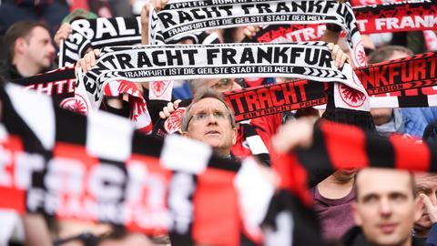 dpa Fans Eintracht