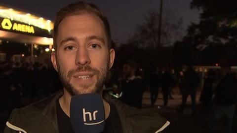 Eintracht-Reporter Patrick Stricker