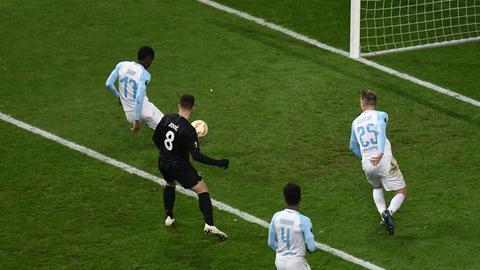 Das zweite Eigentor von Olympique Marseille