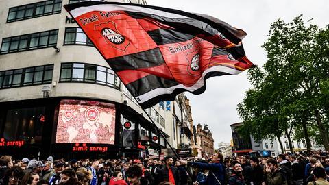 Eintracht-Fans